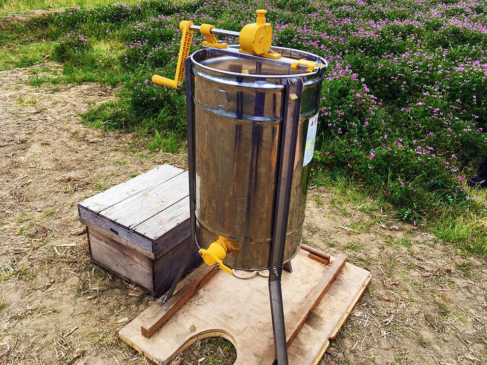 第6回大丸用水れんげまつり養蜂体験