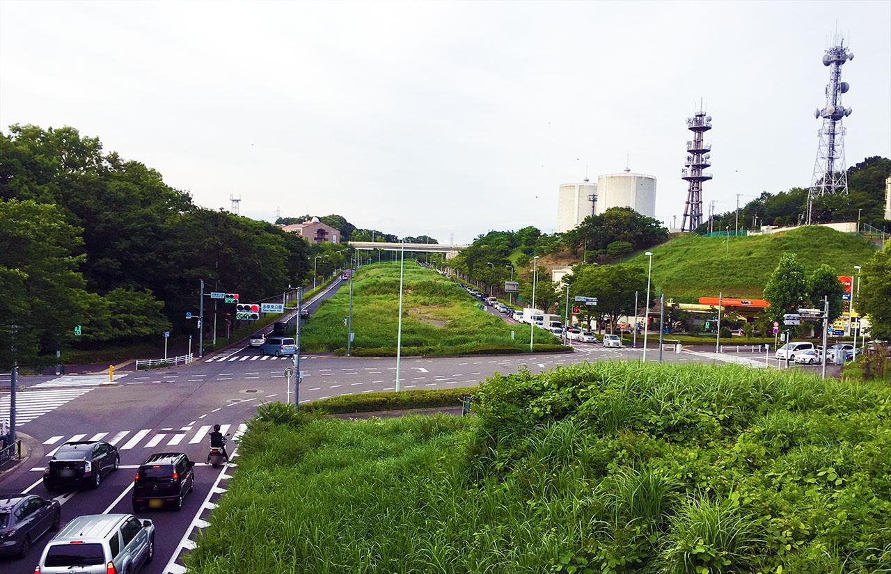 多摩東公園in東京2020五輪多摩市内コース