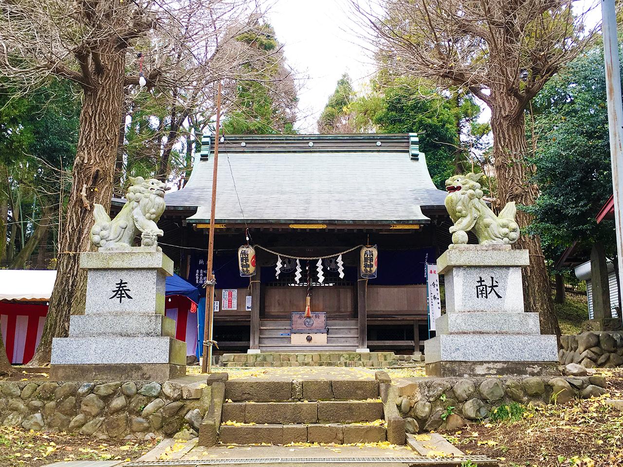 関戸熊野神社初詣