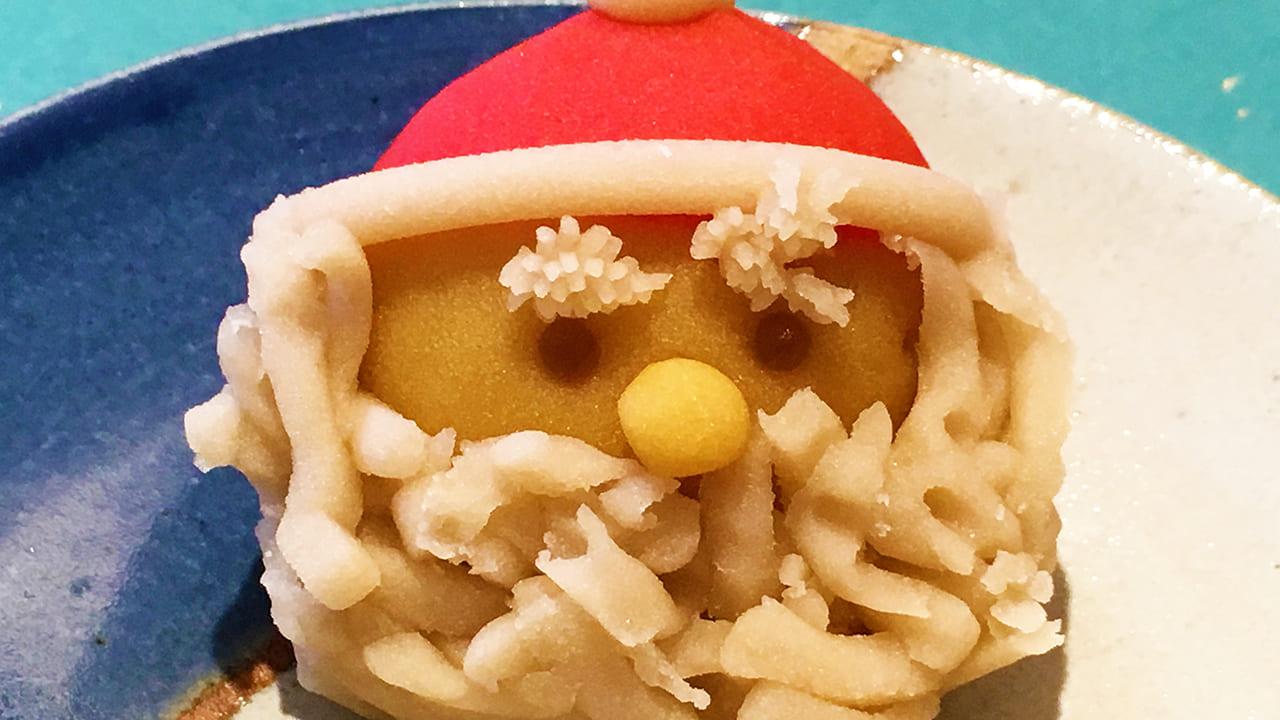 12月上菓子メリークリスマスな花鳥風月