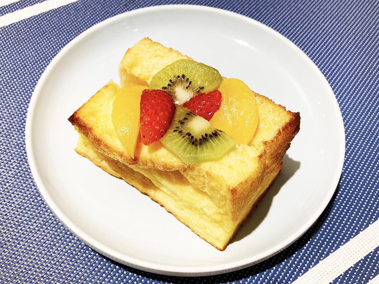 至福の逸品♪『ブーランジェリーメゾンユキ』のフルーツフレンチトーストを頂きました♪