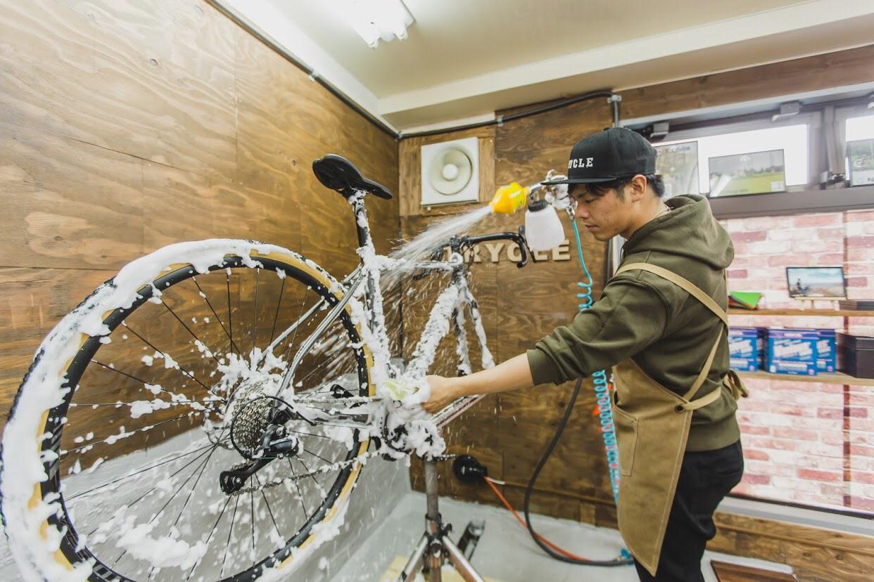 自転車乗りが集まる自転車屋さん?!矢野口に「TRYCLE」がオープンしました♪