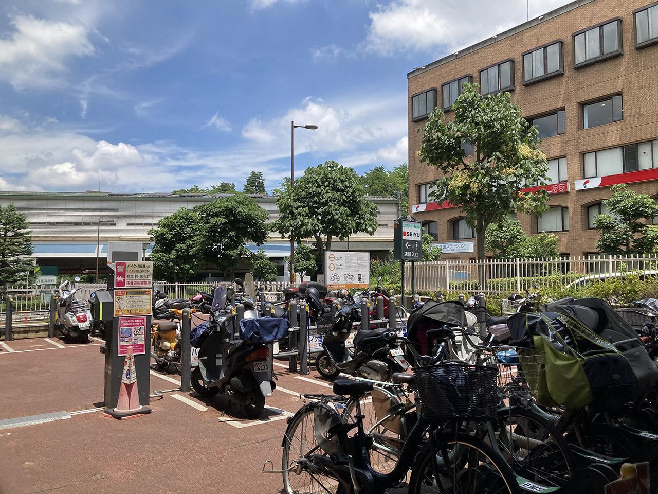 グリナード永山直結の永山第3駐輪場が工事のため一時閉鎖へ